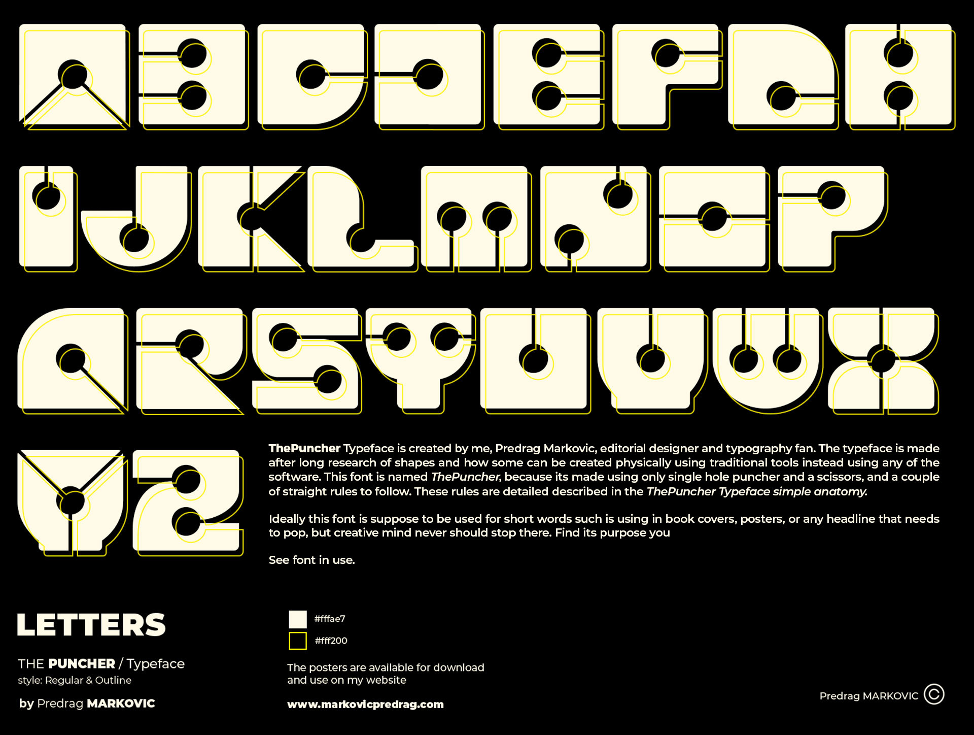 Letters-ThePuncher-Typeface-Black-BG