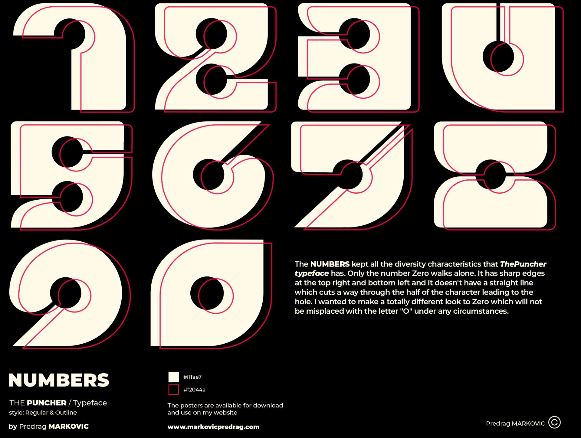 Numbers-ThePuncher-Typeface-Black-BG